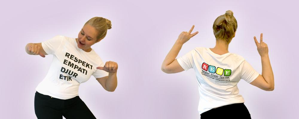 Vår snygga T-shirt!!!